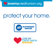 Love My Credit Union ADT Rewards