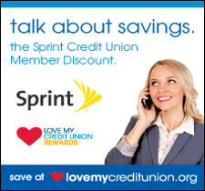 Love My Credit Union Sprint Rewards